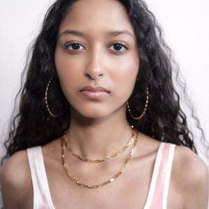 Link Chain - Hoops + Chains LDN