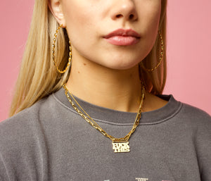 FUCK THIS Chain - Hoops + Chains LDN