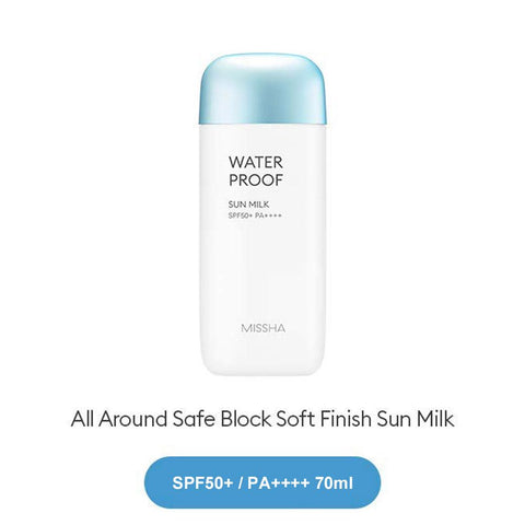 MISSHA All Around Safe Block Waterproof Sun Milk SPF50+/PA+++ 70ml