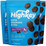 HighKey Snacks Low Carb Keto Chocolate Brownie Cookie Bites 2.25 oz Pack of 3