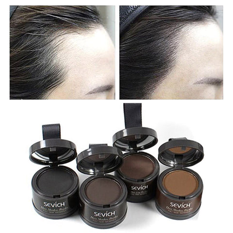 Sevice Water Proof Hair Line Powder Hair Edge Coloring Unisex Hair Root Cover Up