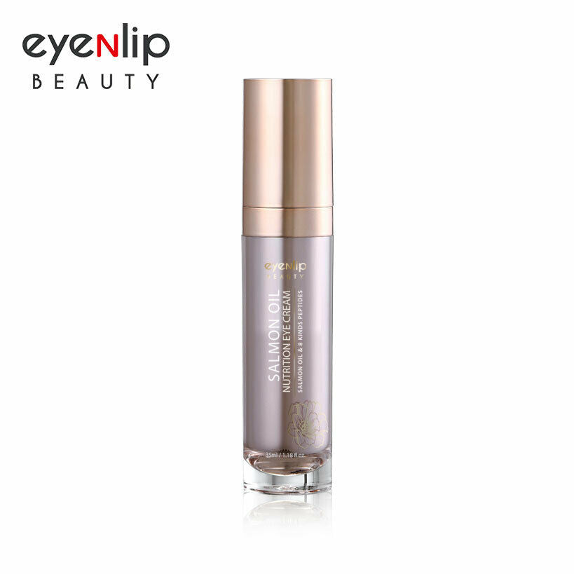 Salmon & Peptide Nutrition Eye Cream 35ml eyeNlip Beauty Korean Cosmetics