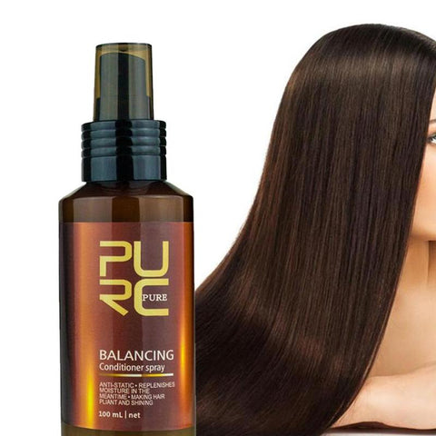 Pure Hair Care Leave-in Balancing Conditioner Spray Anti-static Moisturizing