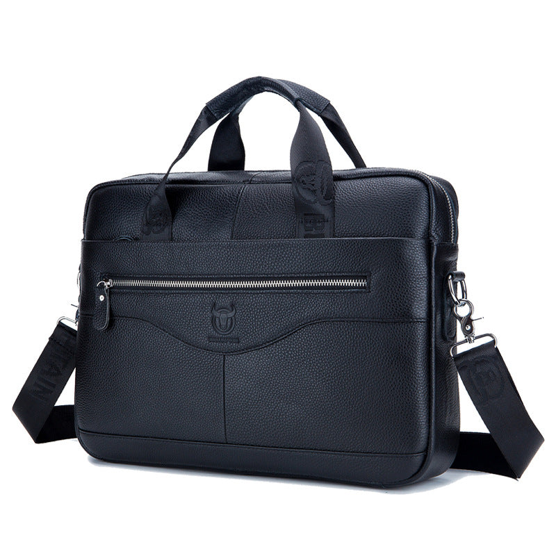 Men's  Genuine Leather Briefcase Business Computer Messenger Bags Shoulder Bags