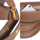 Handbag Genuine Leather Women's Messenger Bag Horseshoe Semi-circle Saddle Purse