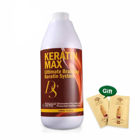 Keratin Max Ultimate Brazilian Keratin System 1000ml Repair Damaged Hair