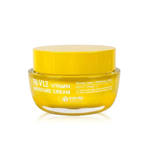 F8 V12 Vitamin Moisture Cream Best Korean Cosmetics eyeNlip Beauty