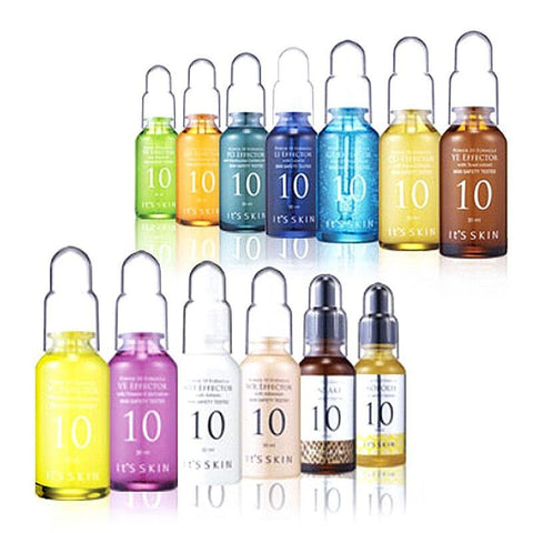 IT'S SKIN Power 10 Formula Effector 13 Kinds 30ml Korean Cosmetics Beauty Supply