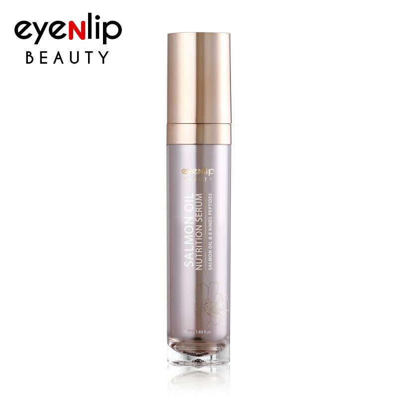Salmon & Peptide Nutrition Serum 50ml Korean Cosmetics eyeNlip Beauty
