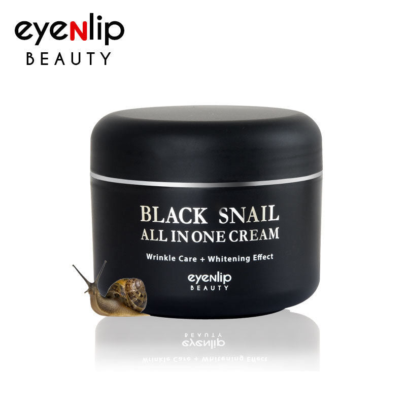 Black Snail All In One Cream 100ml Korean Cosmetics eyeNlip Beauty