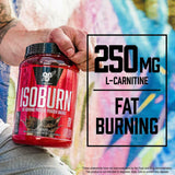BSN ISOBURN Fat Burner Protein Powder Weight Loss L-Carnitine Vanilla Ice Cream