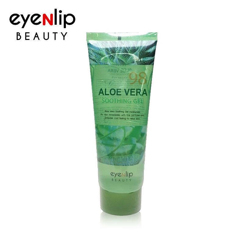 Aloe Vera Soothing Gel 115ml [Size up] Korean Cosmetics eyeNlip Beauty