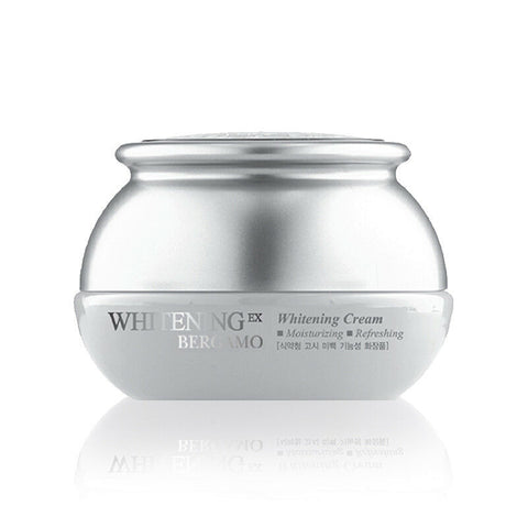 BERGAMO Whitening EX Whitening Cream 50g Whiten Sooth Skin Korean Cosmetics