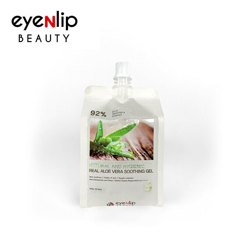 92% Real Soothing Gel 4 Type 300g Korean Cosmetics eyeNlip Beauty