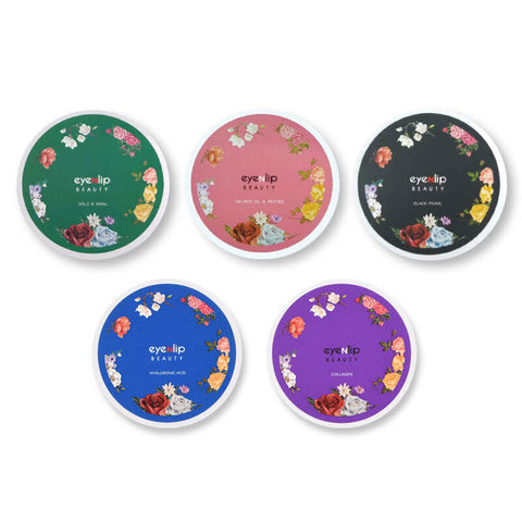 Hydrogel Eye Patch 5 Types 84g (1.4g * 60ea) Korean Cosmetics eyeNlip Beauty