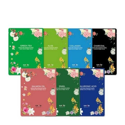 MOISTURE ESSENCE MASK x 10ea Korean Cosmetics eyeNlip Beauty