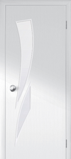 Interior & Closet doors | Slab doors | modern - white - Frosted glass not transparent