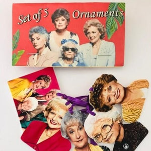 Golden Girls (Set 1) ORNAMENTS