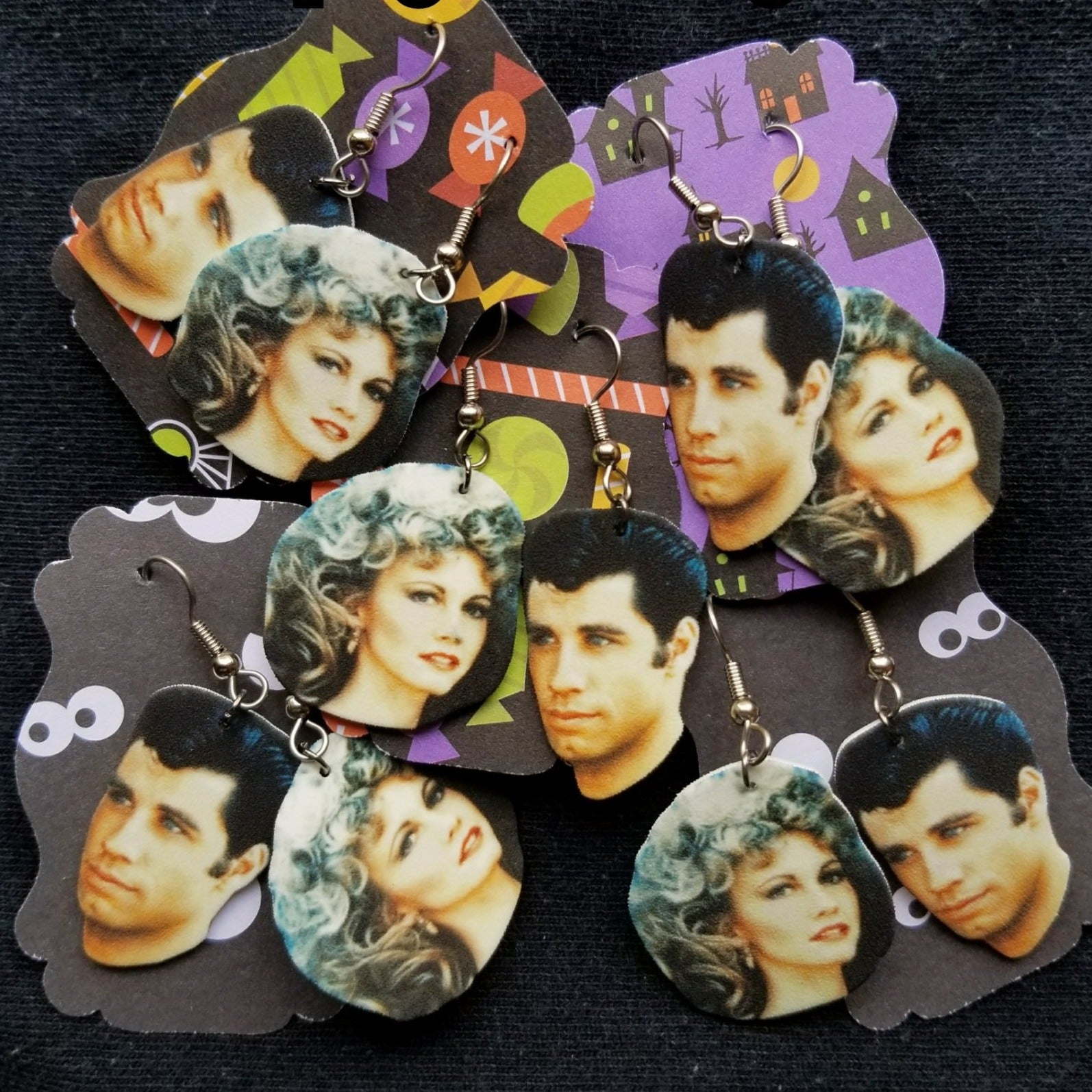 Grease Sandy & Danny EARRINGS