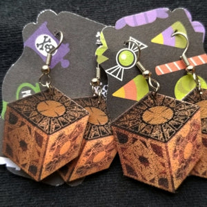 Hellraiser Puzzle Box EARRINGS
