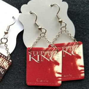 Carrie book cover EARRINGS