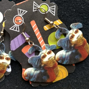 """Ello"" Labyrinth Worm EARRINGS"