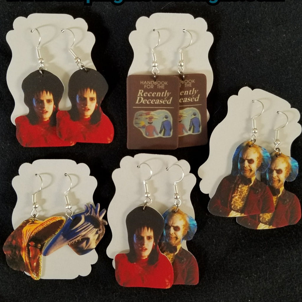 Beetlejuice EARRINGS