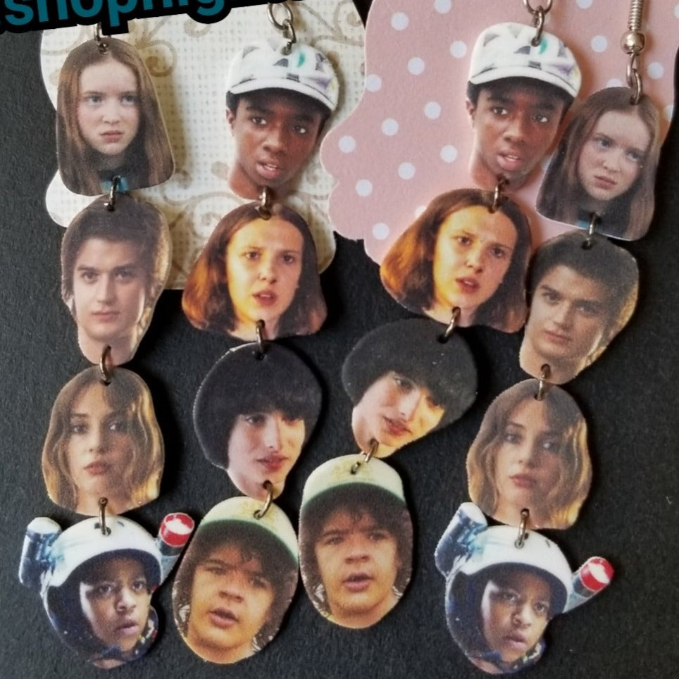 Stranger Things Stack EARRINGS