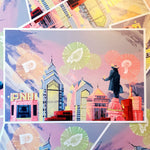 Philly Skyline POSTER / PRINT
