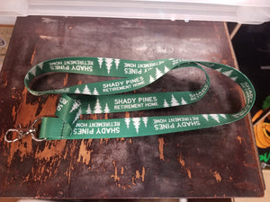 Shady Pines (The Golden Girls) KEYCHAIN LANYARD