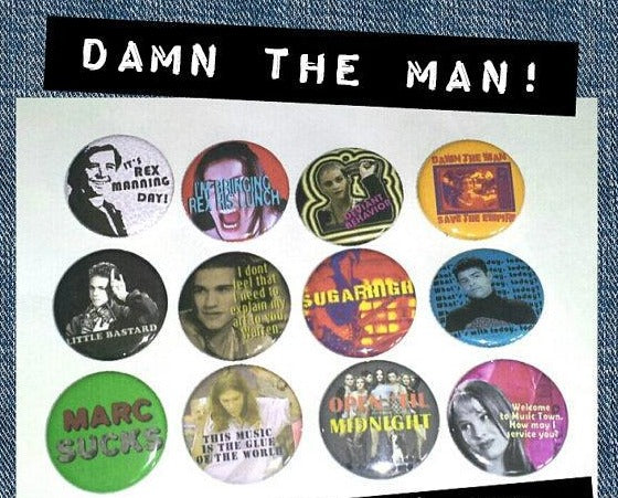 Empire Records PIN PACK
