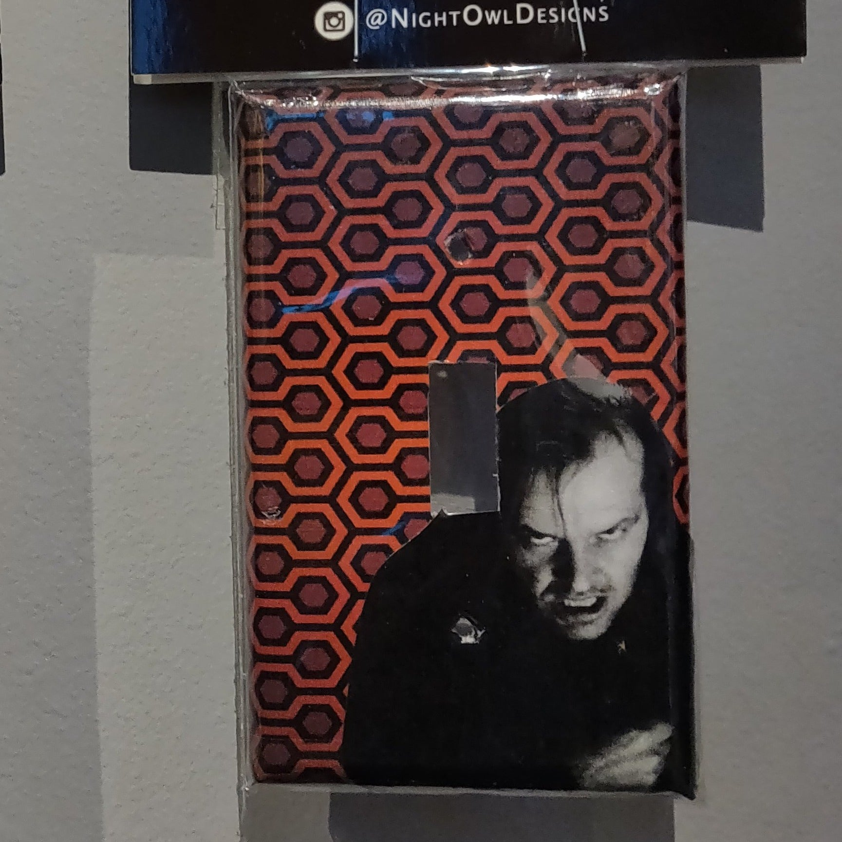 Jack (The Shining) LIGHT SWITCH PLATE