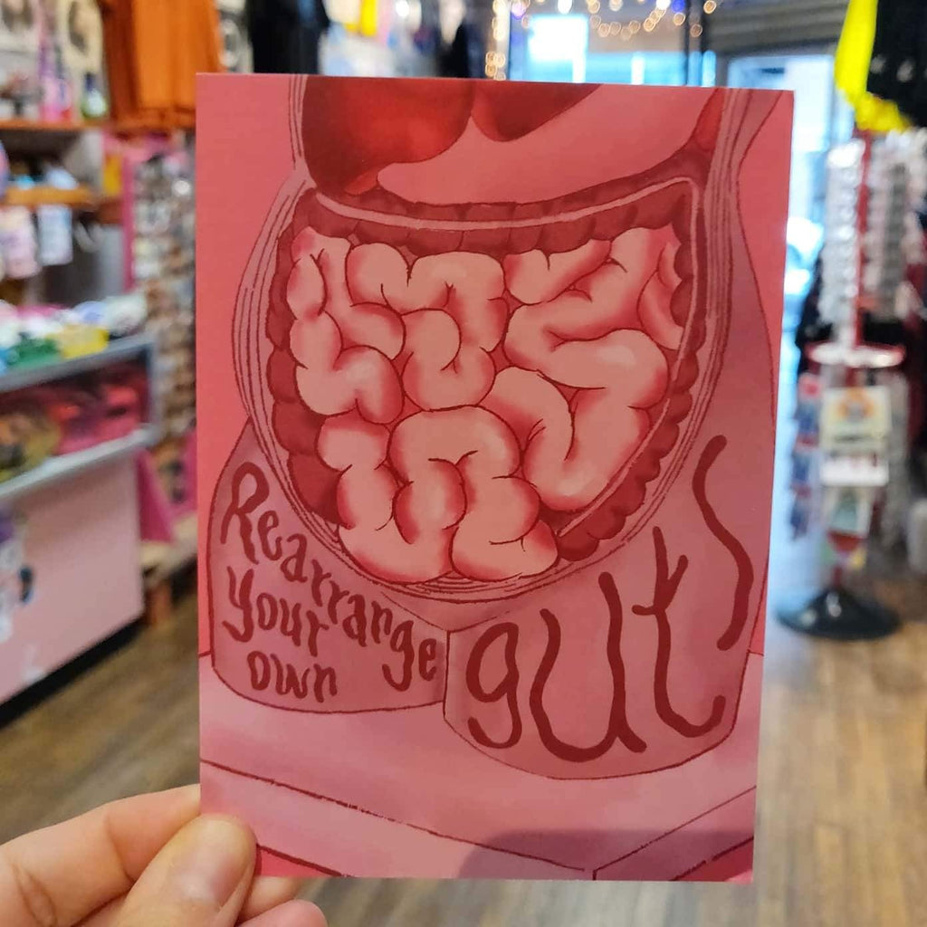 Rearrange Your Own Guts GREETING CARD