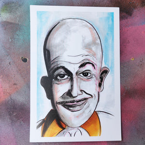 Vincent Price Egghead (Batman) PRINT
