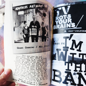 TV Rots Your Brains ZiNE Issue #4