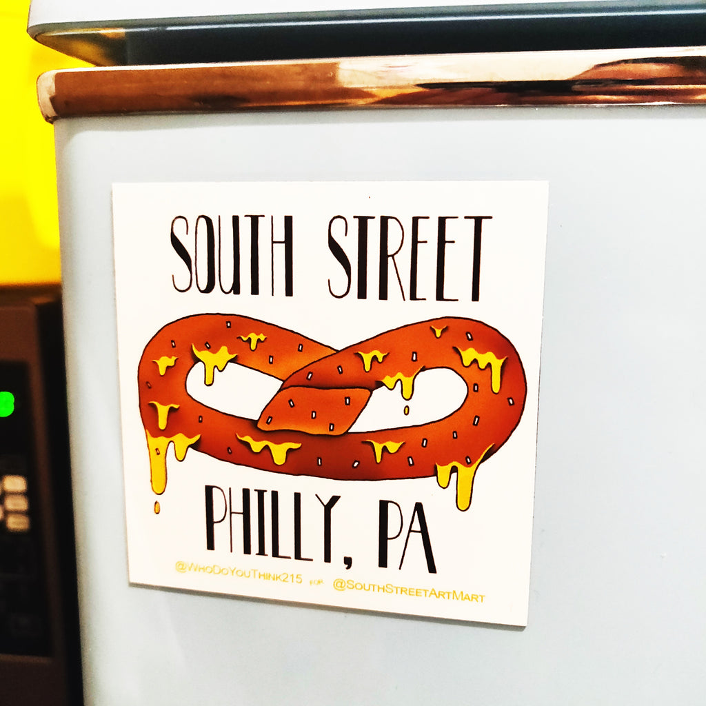 Philly Pretzel MAGNET