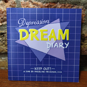 Depression Dream Diary Comic ZiNE