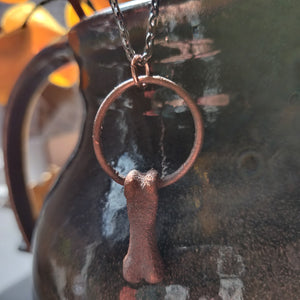 Copper Coyote NECKLACE