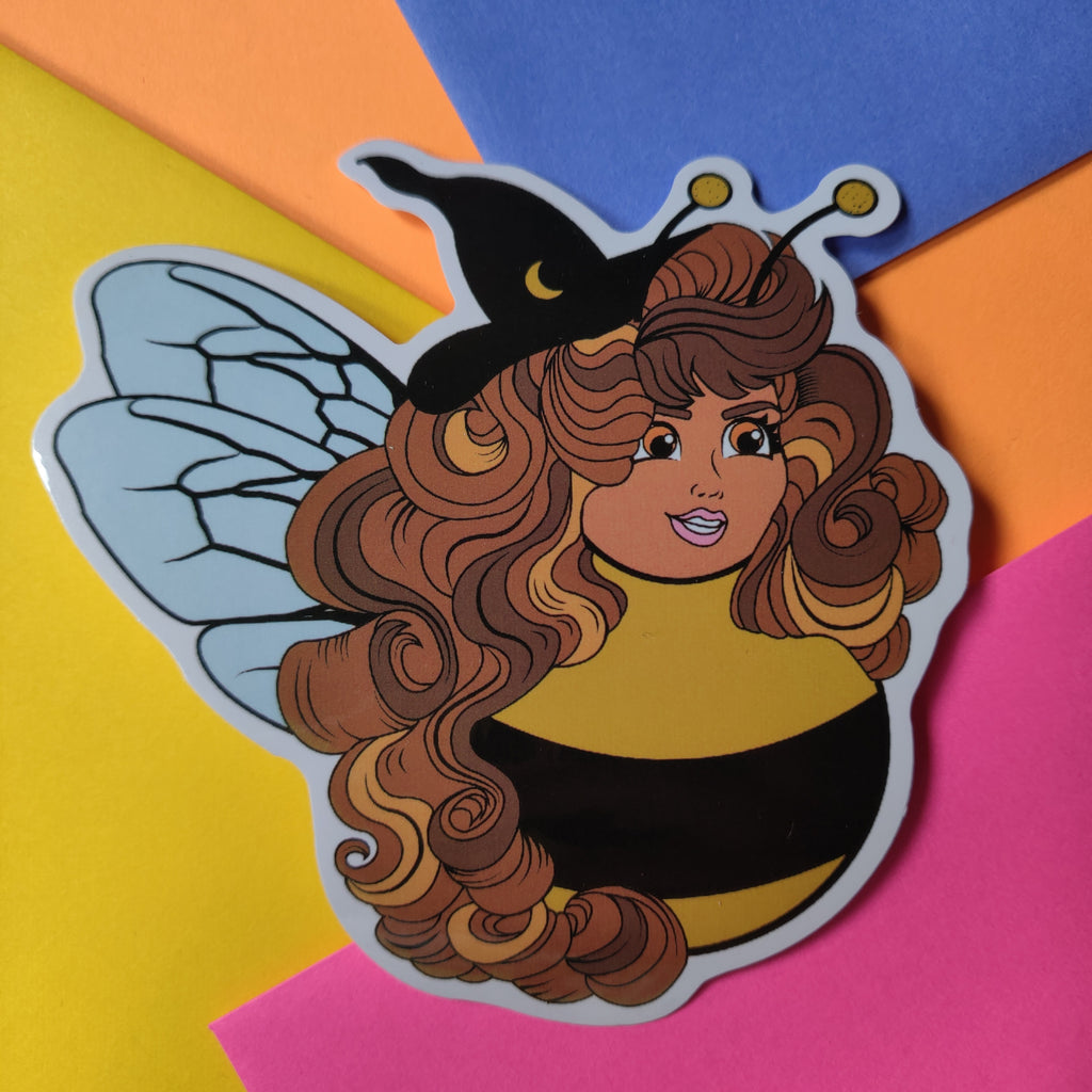 Bee Witch STICKER