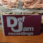 Def Jam Record Sleeve GREETING CARD