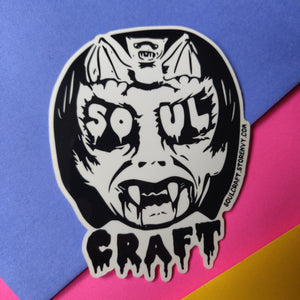 SoulCraft Logo STICKER