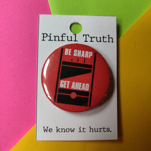 Be Sharp Get Ahead PIN