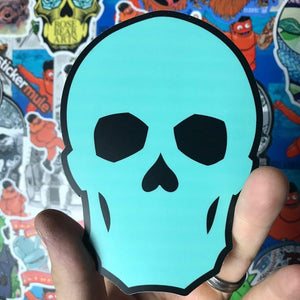 Graffiti Skull STICKER