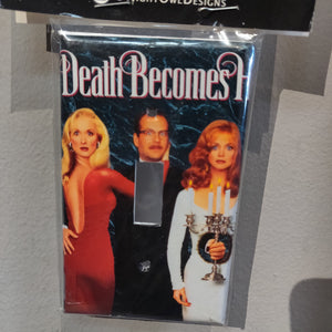 Death Becomes Her LIGHT SWITCH PLATE