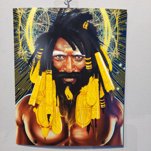 (Last one!) Golden Locs PRINT