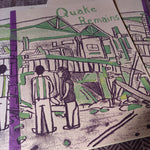 Quake Remains Illustrated COMIC / ZiNE