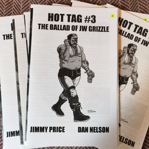Hot Tag #3 Wrestling ZiNE