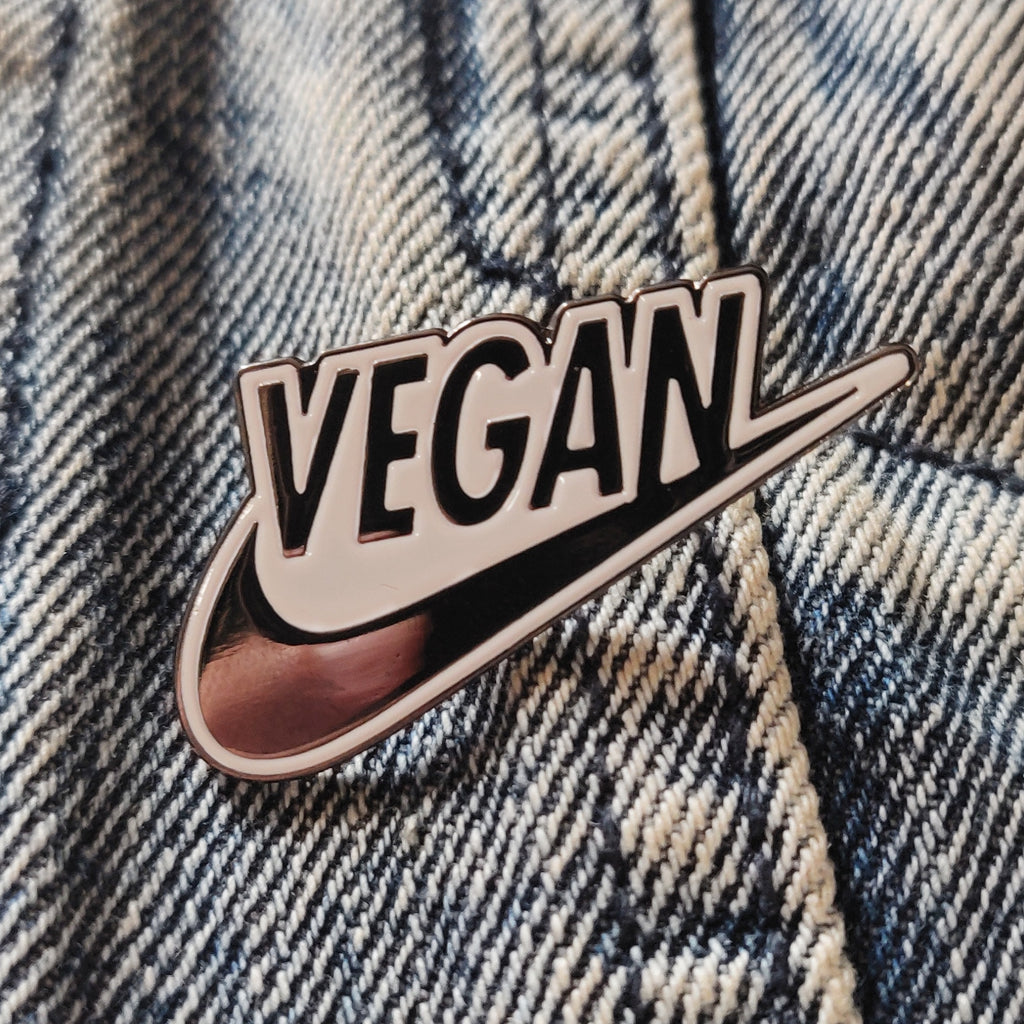 Vegan ENAMEL PIN