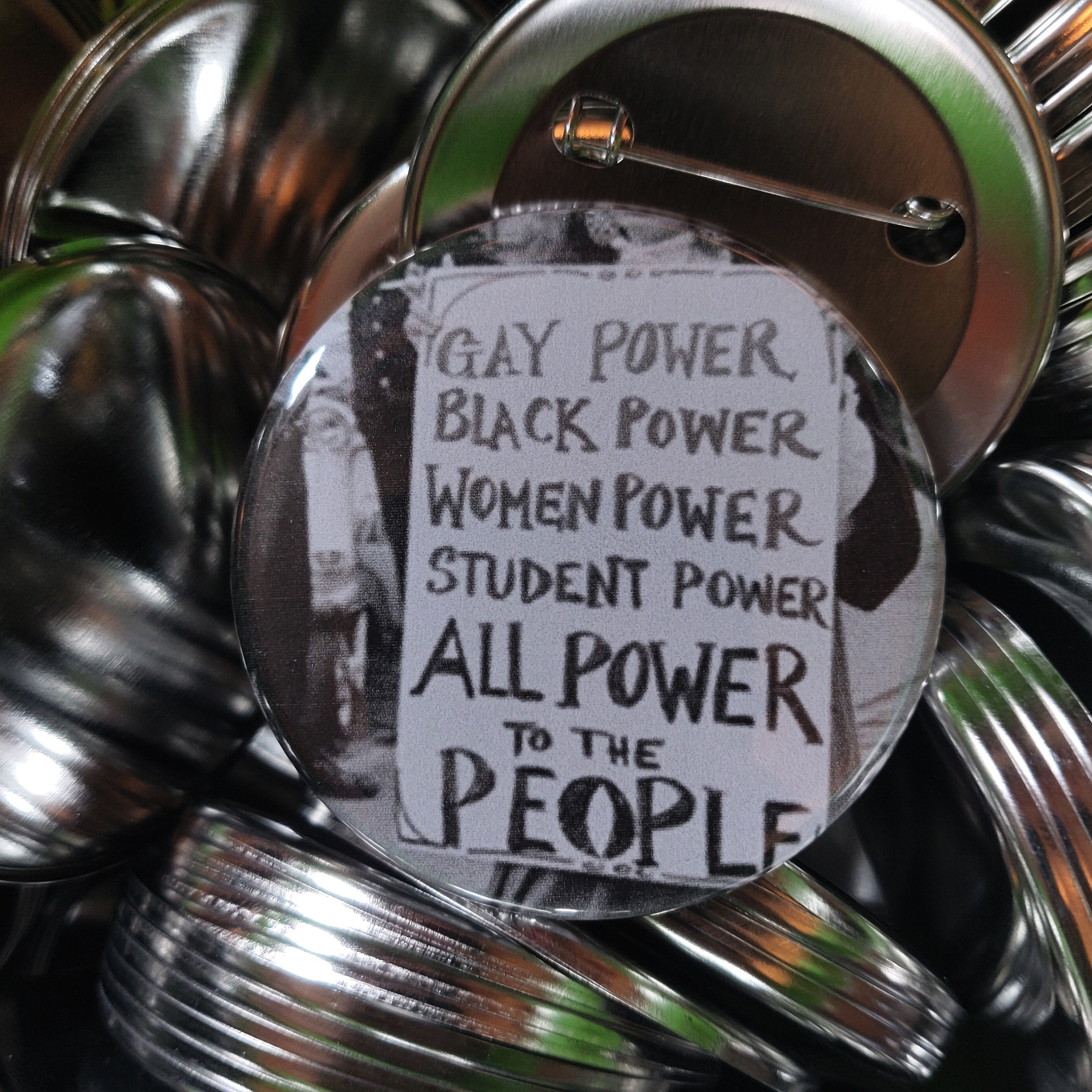 Power to the People PIN