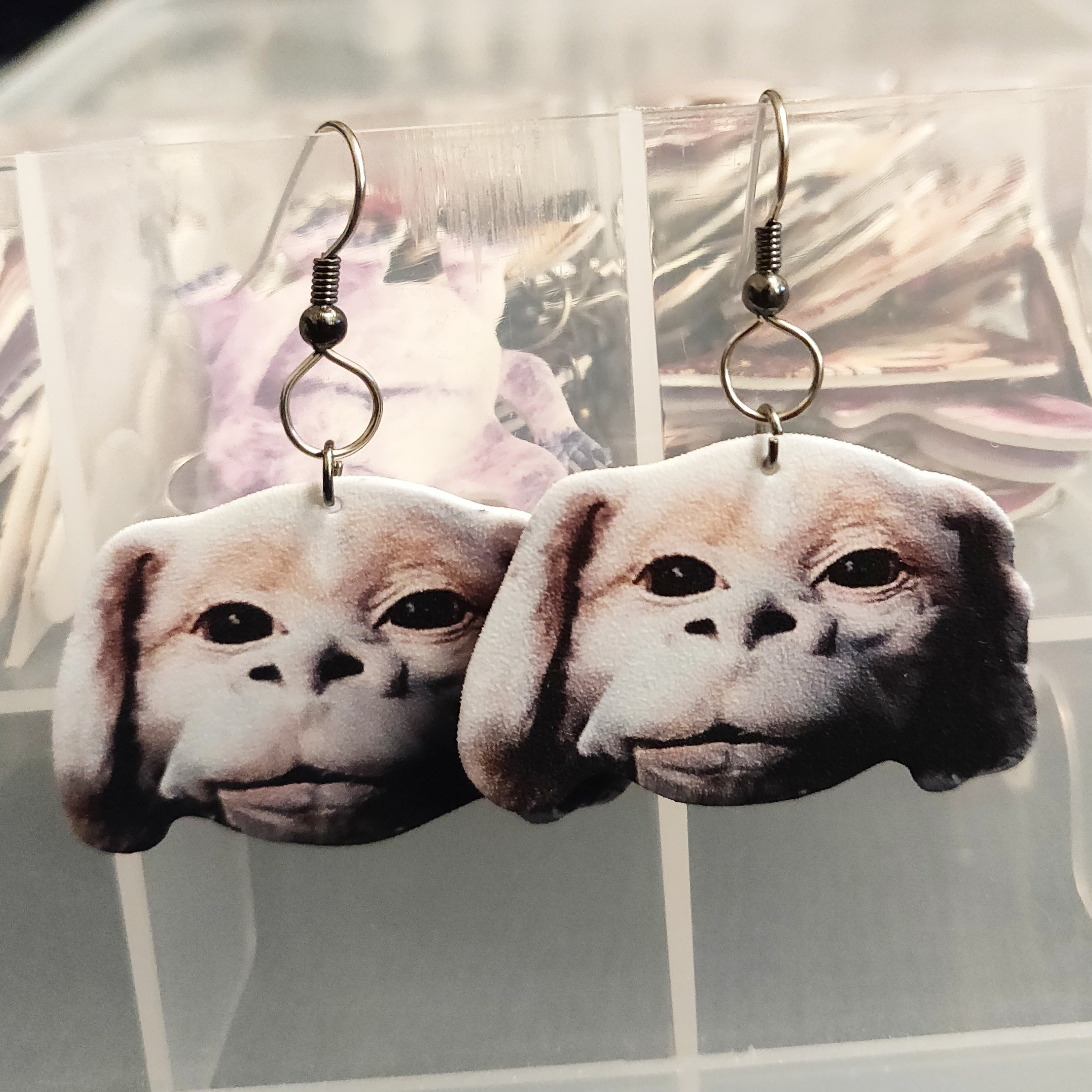 Falcor (The NeverEnding Story) EARRINGS